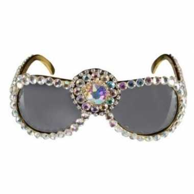 Carnavalskleding pailletten verkleed bril dames helmond