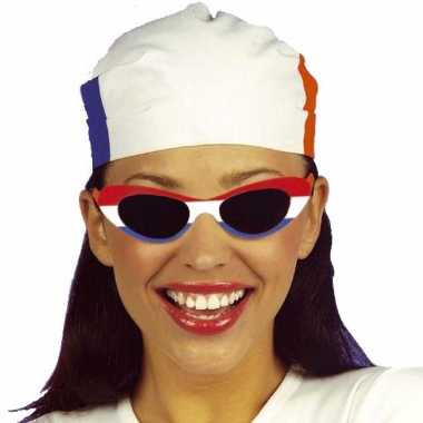 4769ee7e6daf3c Carnavalskleding Party zonnebril Holland ovaal helmond ...
