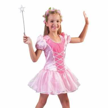 Carnavalskleding roze ballerina jurkje meisjes helmond