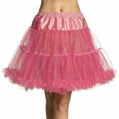 Carnavalskleding roze rock 'n roll petticoat dames helmond
