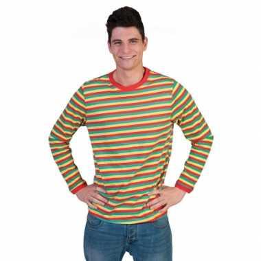 Carnavalskleding shirt dorus heren helmond
