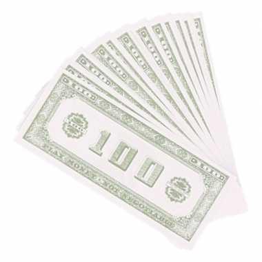 Carnavalskleding speelgoed geld dollar stuks helmond