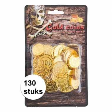 Carnavalskleding speelgoed muntstukken goud stuks helmond