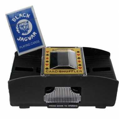 Carnavalskleding speelkaarten schudmachine batterijen inclusief speel