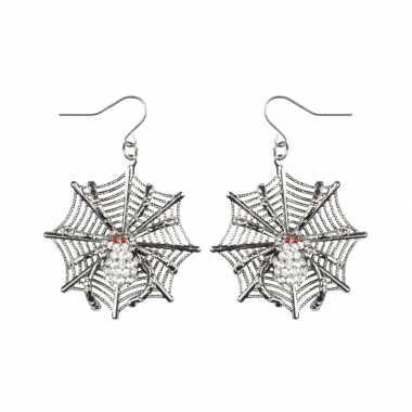 Carnavalskleding spinnen heksen oorbellen dames helmond