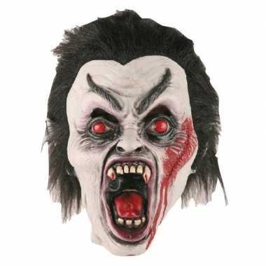 Carnavalskleding vampier masker latex helmond