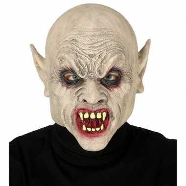 Carnavalskleding vampier monster masker latex helmond