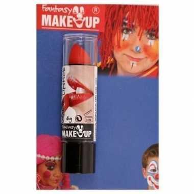 Carnavalskleding verkleed rode lipsticks/lippenstiften mat helmond