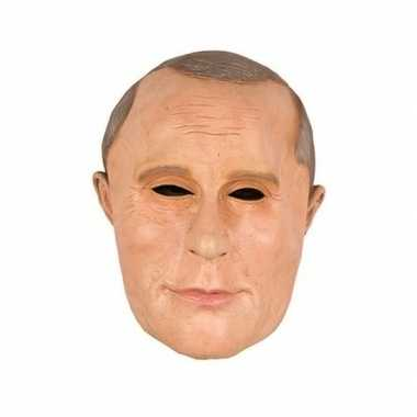 Carnavalskleding vladimir poetin/putin rusland masker latex helmond