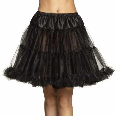Carnavalskleding zwarte rock 'n roll petticoat dames helmond