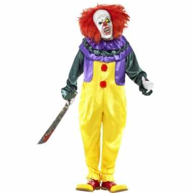 Clowns carnavalskleding halloween helmond