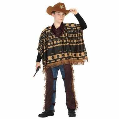 Cowboy/western carnavalskleding/verkleed carnavalskleding jongens he
