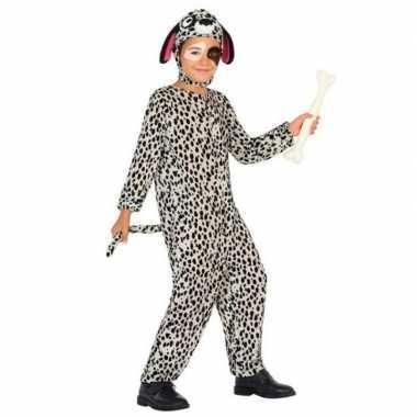Dierencarnavalskleding hond/honden verkleed carnavalskleding dalmati