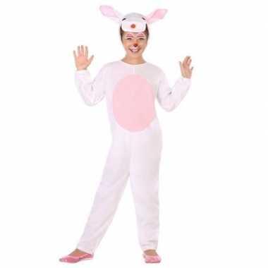 Dierencarnavalskleding konijn/haas verkleed carnavalskleding kindere