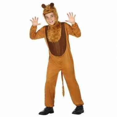 Dierencarnavalskleding leeuw/leeuwen verkleed carnavalskleding kinde