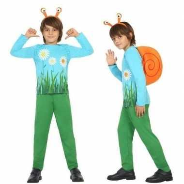 Dierencarnavalskleding slak/slakken verkleed carnavalskleding jongen