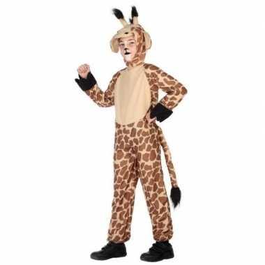 Dierencarnavalskleding verkleed carnavalskleding giraffe kinderen he
