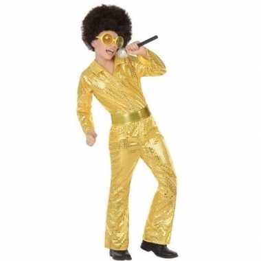 Goedkope gouden dicso glitter carnavalskleding pailetten helmond