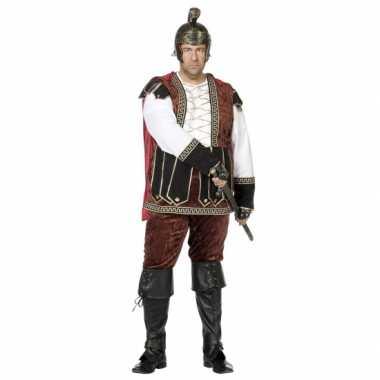 Grote maat middeleeuws carnavalskleding heren helmond