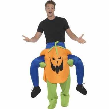 Halloween carnavalskleding pompoen helmond