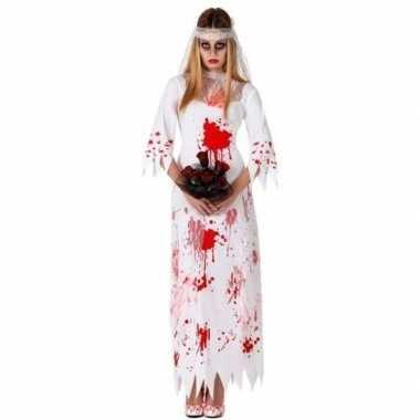 Halloween dode bruid carnavalskleding dames helmond