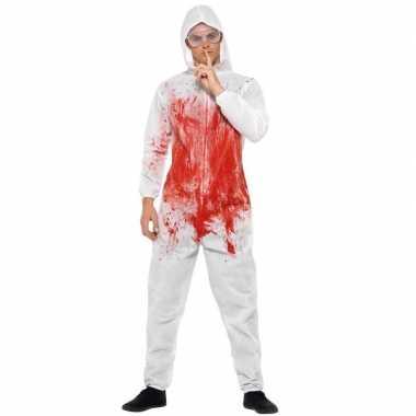 Horror forensisch medewerker carnavalskledingl heren helmond