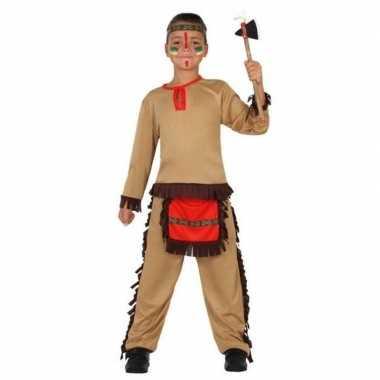 Indiaan/indianen carnavalskleding/verkleed carnavalskleding jongens