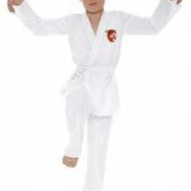 Karate kid carnavalskleding wit kids helmond