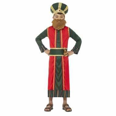 Koning caspar kerst carnavalskleding jongens helmond