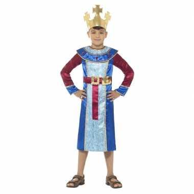 Koning melchior kerst carnavalskleding jongens helmond