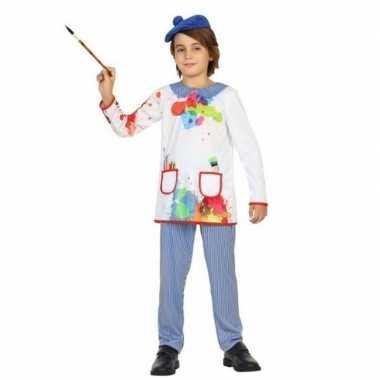 Kunstschilder verkleed carnavalskleding picassio kinderen helmond