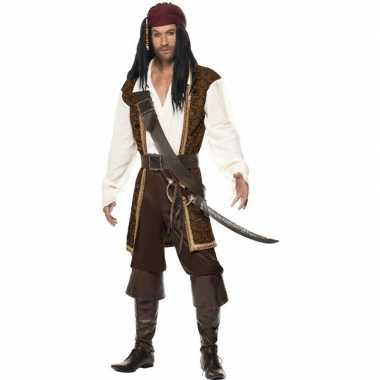 Luxe piraten carnavalskleding heren helmond