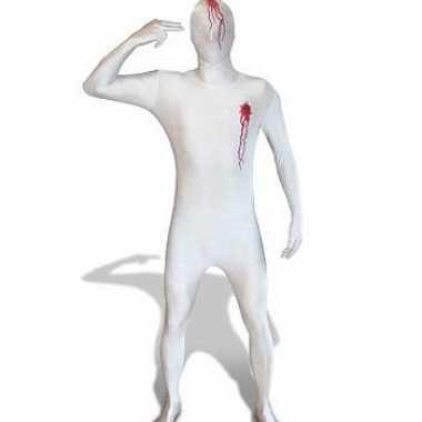 Morphsuit carnavalskleding shotwonden helmond
