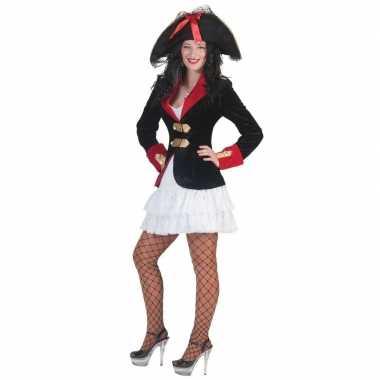 Piraten carnavalskleding jasje jurkje dames helmond