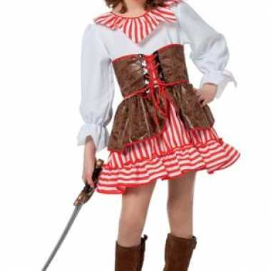 Piraten carnavalskleding meisjes helmond