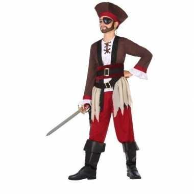 Piraten verkleed carnavalskleding jongens helmond