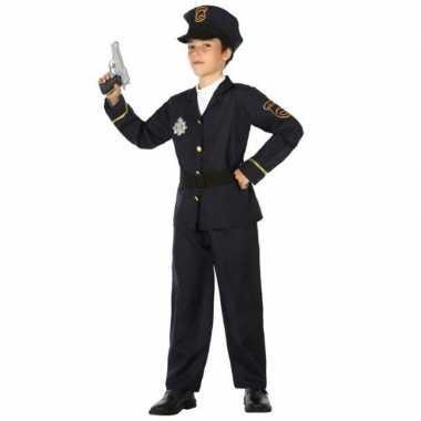Politie agent carnavalskleding / verkleed carnavalskleding jongens h