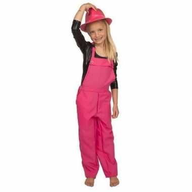 Roze verkleed carnavalskledingl kinderen helmond