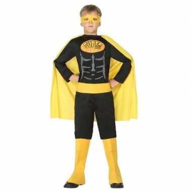 Superheld vleermuis carnavalskleding/verkleed carnavalskleding jonge