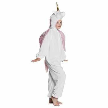 Wit dierencarnavalskleding eenhoorn kinderen helmond