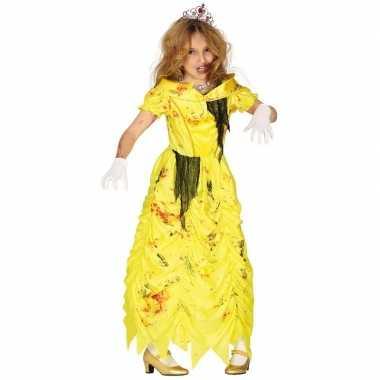 Zombie belle jurk carnavalskleding meisjes helmond