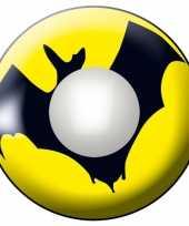 Carnavalskleding bat funlenzen geel helmond