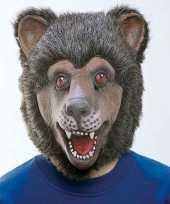 Carnavalskleding beren masker helmond