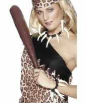 Carnavalskleding cavewoman accesoires helmond