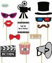 Carnavalskleding cinema foto prop setjes helmond