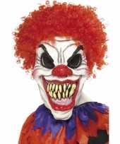 Carnavalskleding clown it masker volwassenen helmond
