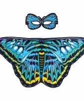 Carnavalskleding dieren verkleedset aureliavlinder helmond