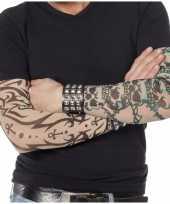 Carnavalskleding doodskop tattoo mouwen helmond