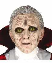 Carnavalskleding dracula vampier monster masker latex helmond