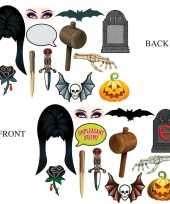 Carnavalskleding dubbelzijde foto booth props halloween helmond